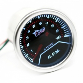 IZTOSS-B3075-Modified-Automobile-Instrument-52mm-Tachometer-Silver