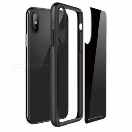 Protective Back Case for IPHONE X - Black