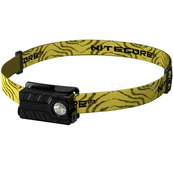 Nitecore NU20 CREE XP-G2 S3 LED 360 Lumens USB Rechargeable Head Light Headlamp w/ Built-in Li-ion Battery -  Black
