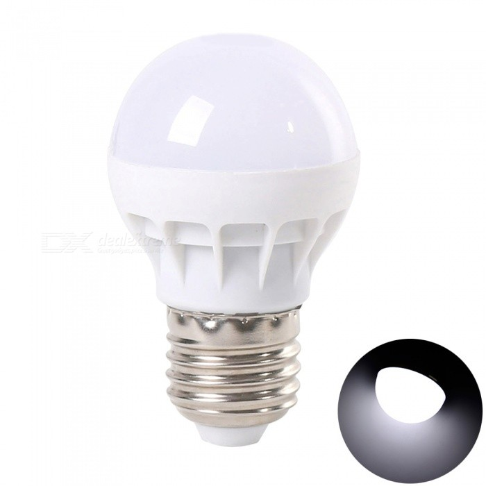 YouOKLight E26 / E27 3W White Light LED Light Bulb for Home Lighting (AC 220V)