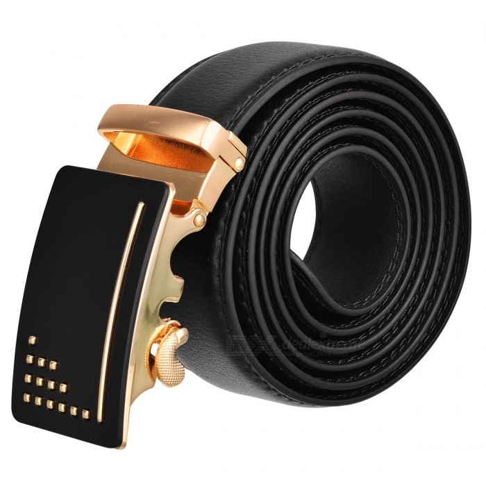 Premium-Mens-Automatic-Buckle-Leather-Belt