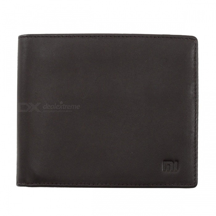 Original-Xiaomi-Genuine-Leather-Clutch-Purse-Stylish-Business-Wallet-for-Credit-Card-ID-License-Pocket-Money-Brown