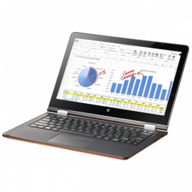 """VOYO VBOOK A1 Series Apollo Lake N3450 Quad-Core 1.1-2.2GHz Win10 11.6"""" Tablet PC IPS Screen With 4GB DDR3L 128GB SSD - Orange"""