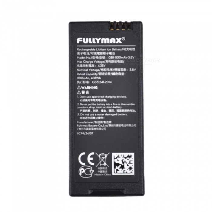 Buy DJI Tello 1100mAh Lithium Battery for UAV Flight Drone with Litecoins with Free Shipping on Gipsybee.com
