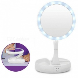 Professional-Portable-Foldable-10X-LED-Makeup-Vanity-Mirror-Health-Beauty-Adjustable-Desktop-Cosmetic-Mirror
