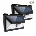 ZHAOYAO-IP65-Waterproof-Outdoor-Solar-Lamp-2835SMD-34LEDs-Garden-LED-Lights-(2-PCS)