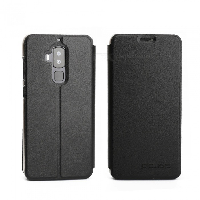 OCUBE Protective Flip-open PU Leather Case for Homtom S8 5.7 Inch