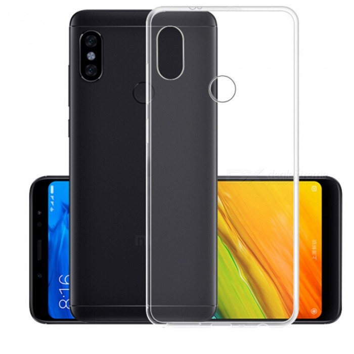 Naxtop TPU Ultra-thin Soft Case for Xiaomi Redmi Note 5 Pro - Transparent - Free Shipping - DealExtreme