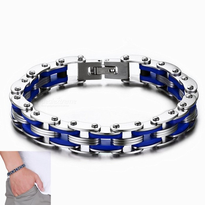 20.5cm Stainless Steel Fashion Decorative Bracelet for Unisex / Boy / Girl / Student / Lover