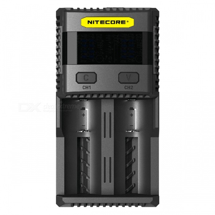Nitecore-SC2-3A-Quick-Charge-Intelligent-Battery-Charger-Black-(US-Plug)