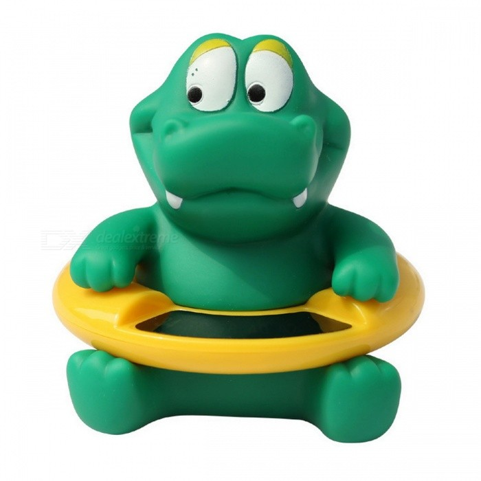 Dinosaur Shape Infant Baby Temperature Water Thermometer, Temperature Tester Bath Tub Toy for  Kids