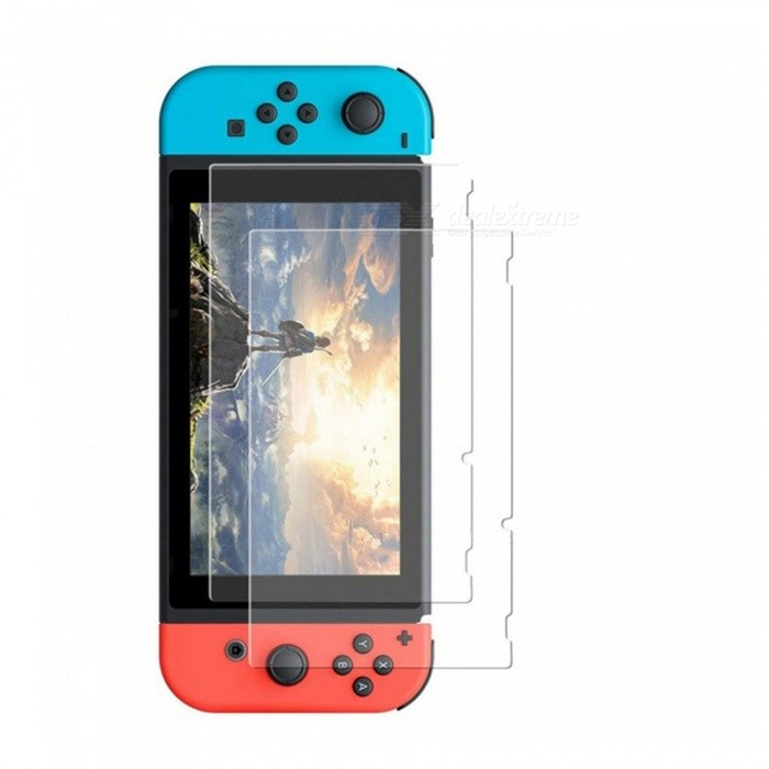 Premium Tempered Glass Screen Protector for Nintendo Switch (2 PCS)