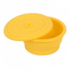 Babykin-Medical-Grade-Silicone-Kid-Children-Tableware-Bowl-for-Baby-Infant-Feeding-Yellow