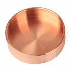 14cm-Nordic-Style-Pure-Copper-Round-Metal-Tray-Ornament-Jewelry-Storage-Tray-Rose-Gold