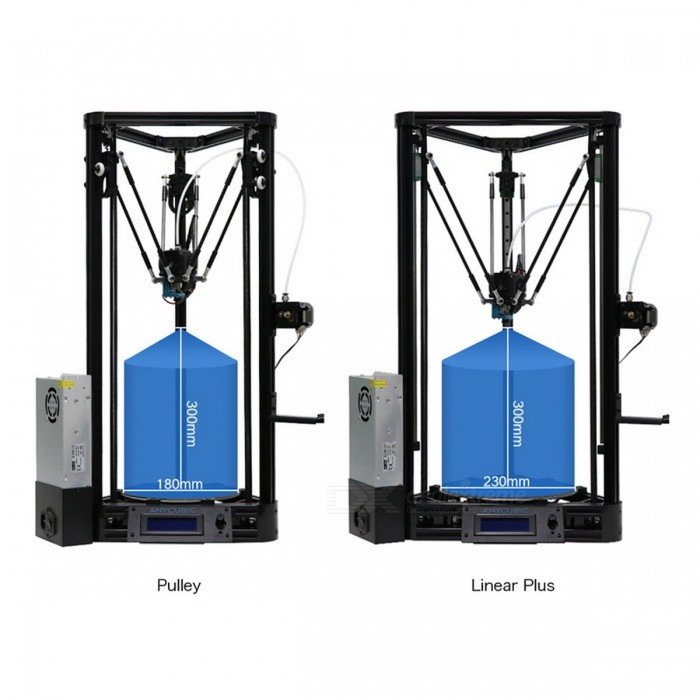 ANYCUBIC Pulley Half of Assembled 3D Printer Set with Auto Leveling (EU Plug)