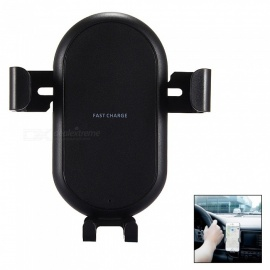 Mini-Smile-Multi-function-Gravity-Car-Air-Vent-Mount-Holder-with-Wireless-Quick-Charger-Adapter-for-IPHONE-X-8-8-Plus