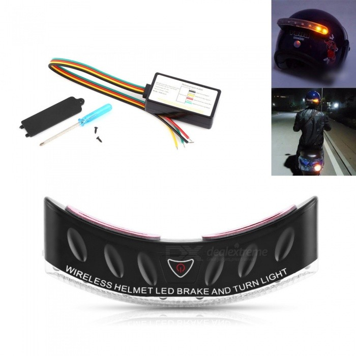 Wireless-8-LED-Motorcycle-Rider-Helmet-Turn-Signal-Stop-Brake-Light-Security-Lamp