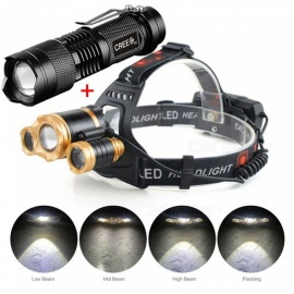 AIBBER-TONE-Portable-3-LED-T6-4-Mode-High-Power-LED-Head-Torch-Lamplight-IR-Sensor-Induction