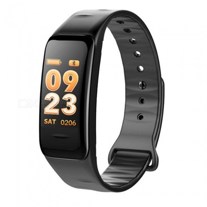 C1s Color Screen Intelligent Bluetooth Bracelet with 3D Dynamic UI Heart Rate / Blood Pressure / Blood Oxygen Monitoring