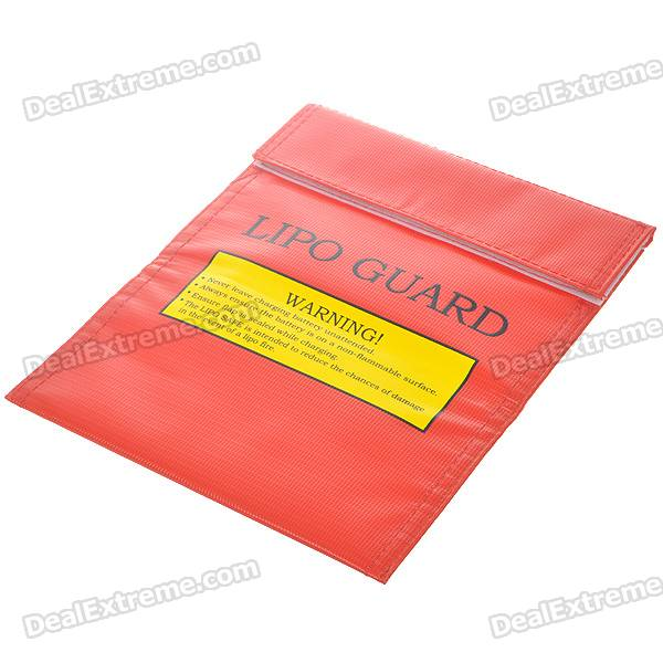 Fireproof LiPo Lithium Polymer Battery Safety Guard Bag - Small Size