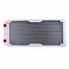 YENISEI-Computer-CPU-Heat-Dissipation-Water-Heater-Cold-Bar-Cooling-Radiator-with-16Pcs-Screws-White