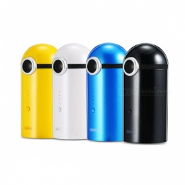 REMAX-Portable-10000mAh-Dual-USB-Power-Bank-18650-External-Battery-for-Mobile-Phones-Silver