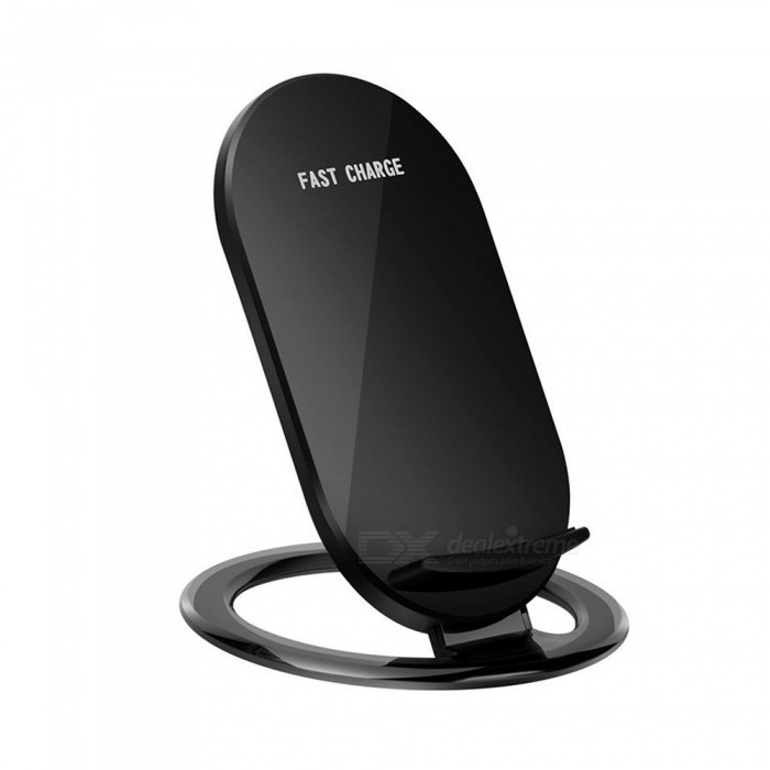Cwxuan 10W Fast Wireless Charger Stand for IPHONE X 8/8Plus, Samsung S9 S8 S7, Any Qi Standard Phone