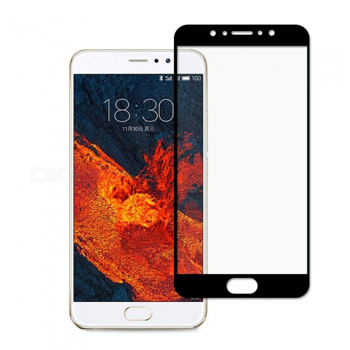 Dayspirit Tempered Glass Screen Protector for Meizu Pro 6 Plus - Black