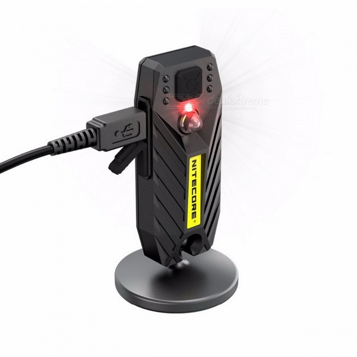 Buy Nitecore T360M 5W 360 Degree Rotatable Magnetic Base Rechargeable 3-Mode Utility LED Flashlight Work Light - Black with Litecoins with Free Shipping on Gipsybee.com