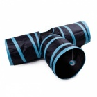 Foldable-3-Holes-Pet-Cat-Kitten-Rabbit-Tunnel-Toy-for-Indoor-Outdoor-Playing-Training-Funny-Toy-Blue-2b-Black