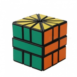QiYi SQ2 Sector Speed Cube Smooth Magic Cube Finger Puzzle Toy 57mm