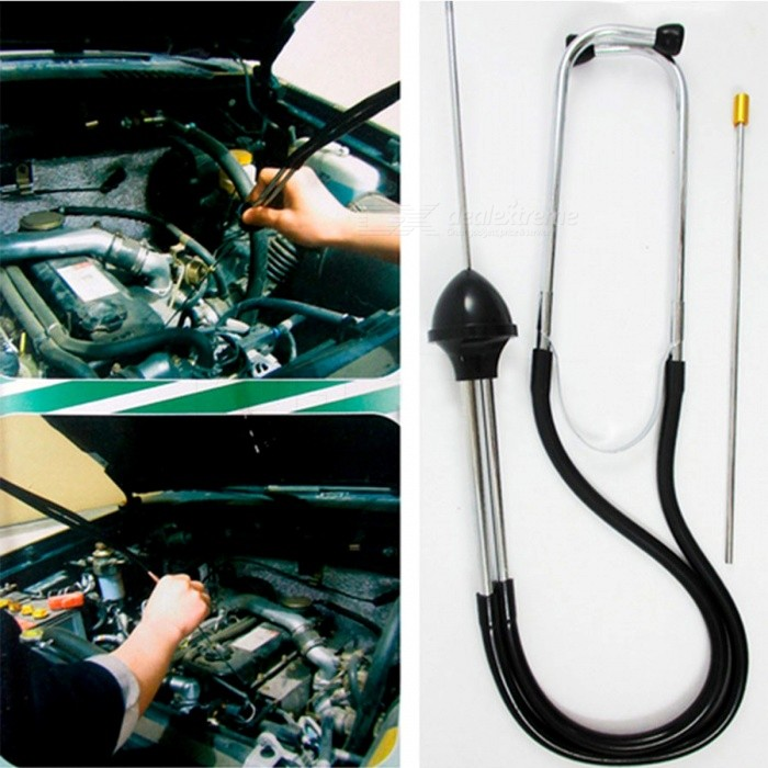 Auto Car Engine Block Stethoscope Automotive Tester Diagnostic Automotive Tools Noise Monitor Repair Engine Analyzer