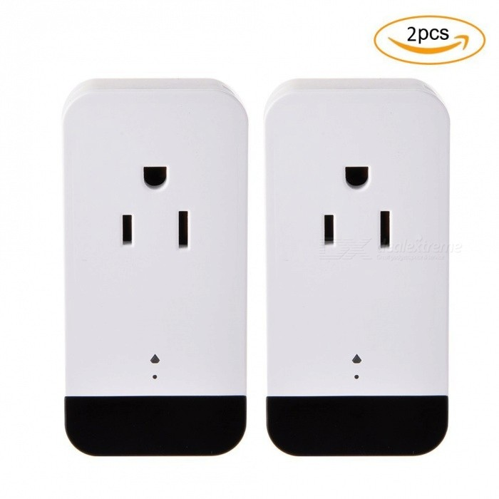 SM01 Infrared Smart Wi-Fi Socket Plug with Alexa Voice Control, Phone Group Control for Home Appliances