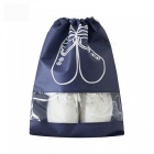 10Pcs-Waterproof-Non-Woven-Shoes-Storage-Bag-Pouch-for-Travel-Portable-Tote-Drawstring-Bag-Laundry-Organizer-Cover-Navy-Blue