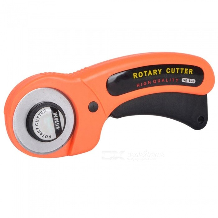 45mm Circular Cutter Rotary Cutter Fabric Cutting Knife Cloth Cutter Quilters Sewing Quilting Fabric Cutting Craft Tools
