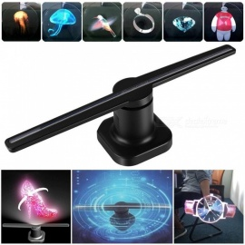 224-LED-3D-Hologram-Fans-Advertisement-Player-Machine-with-Remote-Controller-Black