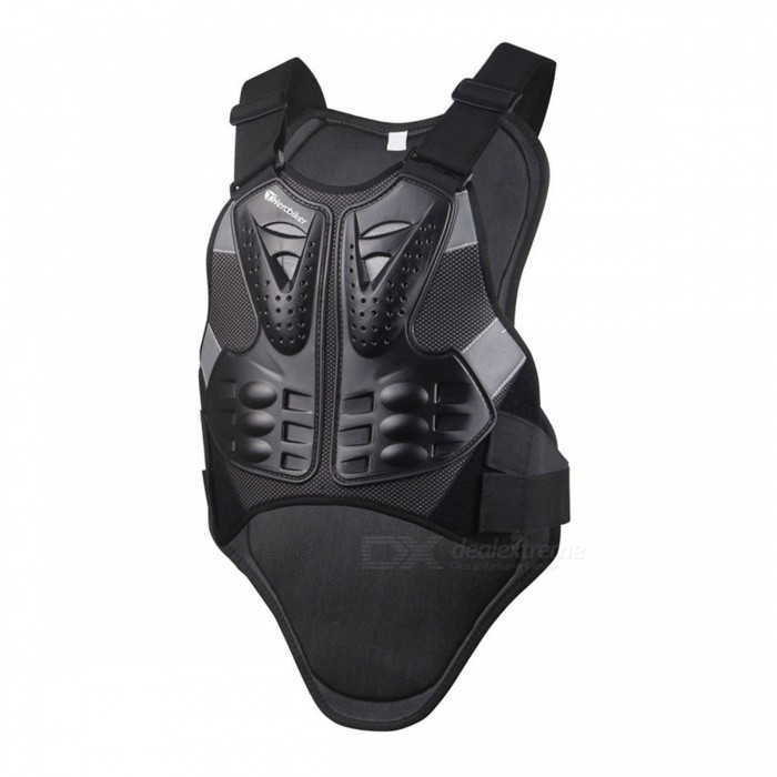 HEROBIKER Motocross Racing Armor, Motorcycle Riding Body Protection Jacket with a Reflecting Strip
