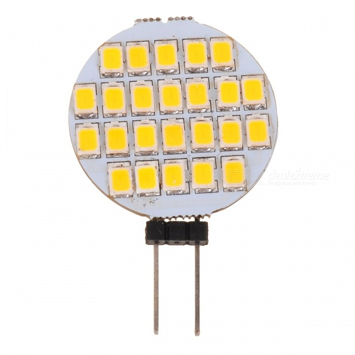G4 1.2W 60lm 3500K Warm White Light 24*SMD LED Plate Module (DC 12V)