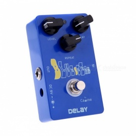 Caline-CP-19-Ocean-Delay-Guitar-Effect-Pedal-True-Bypass-25ms-600ms-Delay-time-range