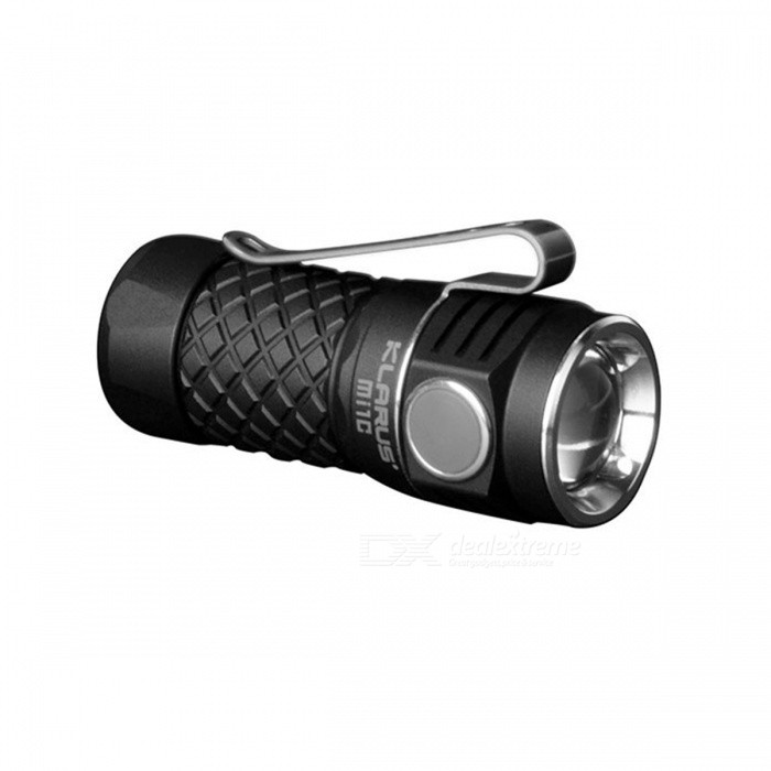 KLARUS Mi1C CREE XP-L HI V3 EDC Mini Flashlight - Black
