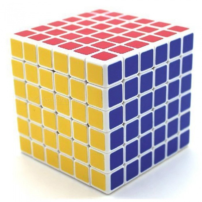 ShengShou 6x6x6 Speed Cube Smooth Magic Cube Finger Puzzle Toy 68mm