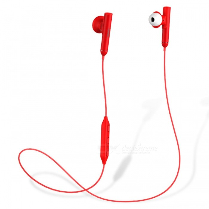 REMAX S9 Universal Noise Reduction Bass Bluetooth Wireless In-Ear Earphone - Red