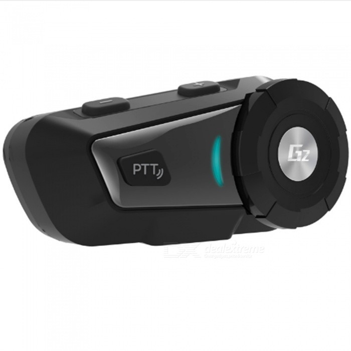 G2 500m Motorcycle Helmet Bluetooth Intercom Headset, MP3 FM Voice Radio Handsfree BT Interphone (EU Plug / 1 PC)