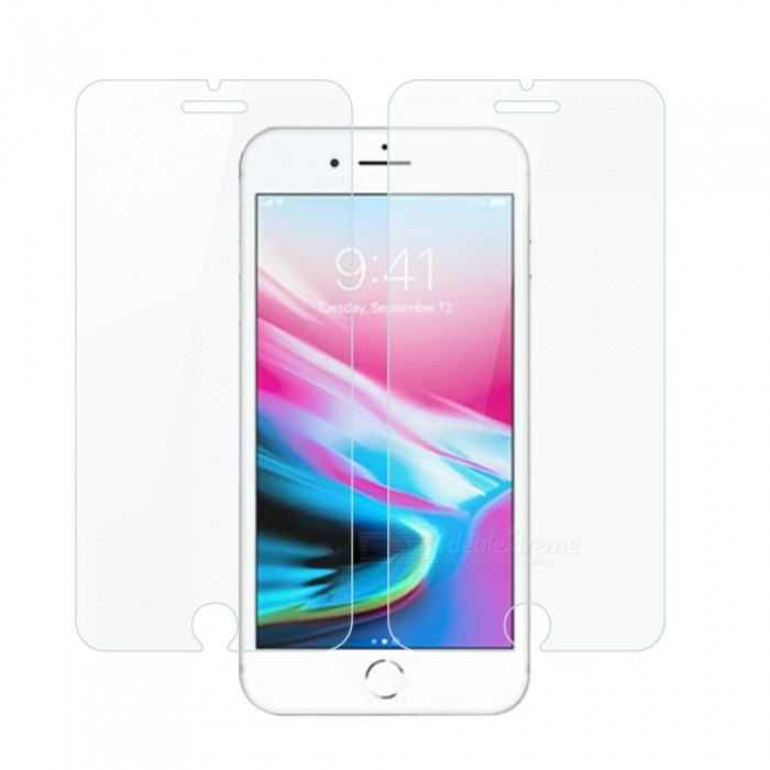 Dayspirit Tempered Glass Screen Protectors for iPhone 7, 8 (2PCS)