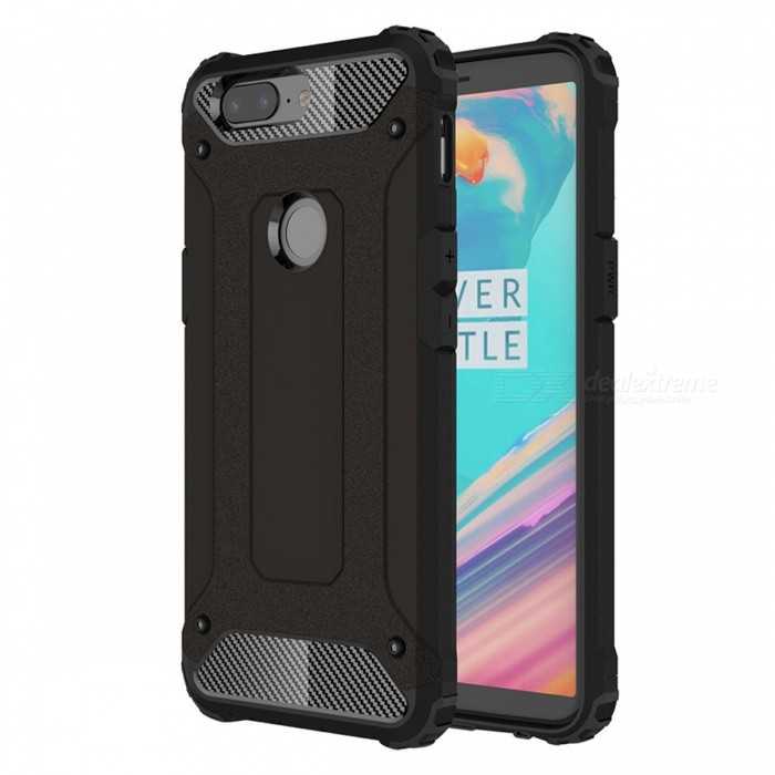 Dayspirit Armor Style Shockproof Anti-Scratch Protective Back Cover Case for OnePlus 5T