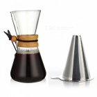 ZHAOYAO-Heat-Resistant-500ML-Glass-Coffee-Pot-2b-Stainless-Steel-Strainer