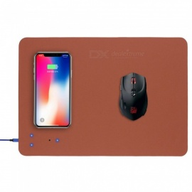 Multi-function-PU-Mouse-Pad-Built-in-Qi-Wireless-Charger-With-LED-Light-Indicator-for-IPHONE-X