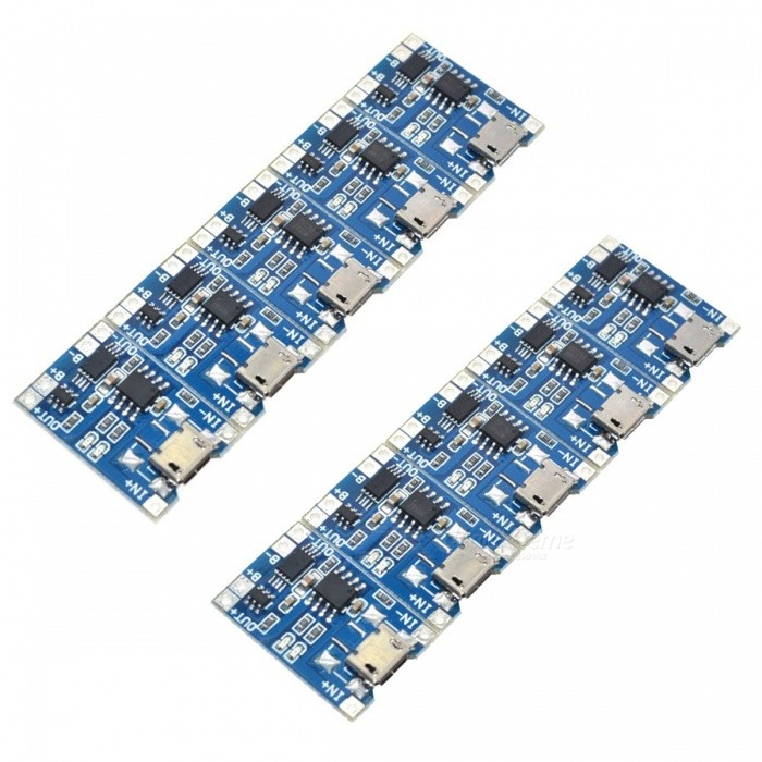 ZHAOYAO  Micro USB 1A Lithium Battery Charger Modules