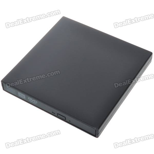 Buy Slim Portable USB 2.0 DVD RW External Optical Drive with Litecoins with Free Shipping on Gipsybee.com