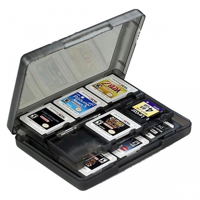 28-in-1 Game Card Case for Nintendo NEW 3DS / 3DS / DSi / DSi XL / DSi LL / DS / DS Lite / 3Ds